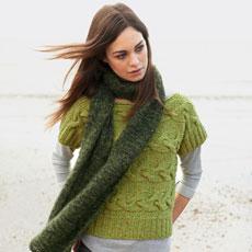 kort model trui breien