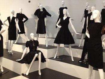 chanel jurk zwart