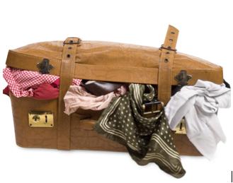 Een koffer vol jurken