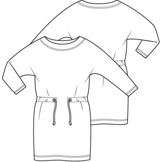 Sweatjurk (Post patroon)-788576