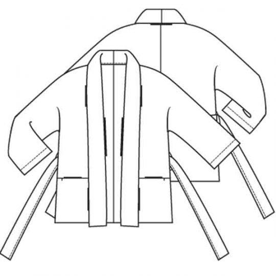 Kimono jasje (Post patroon)-789683