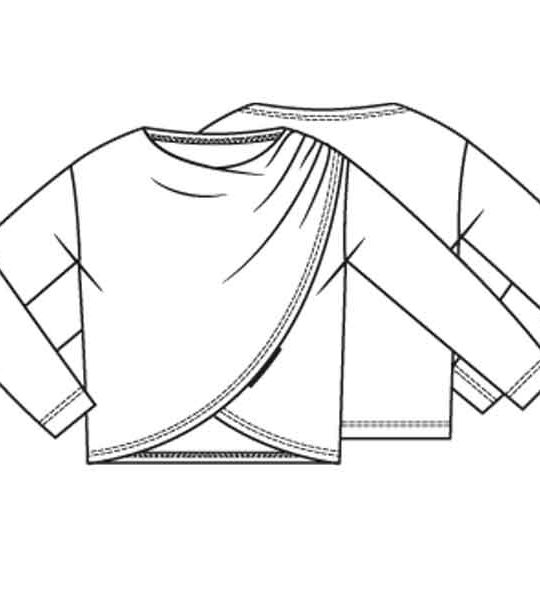 Overslagtrui (Post patroon)-0