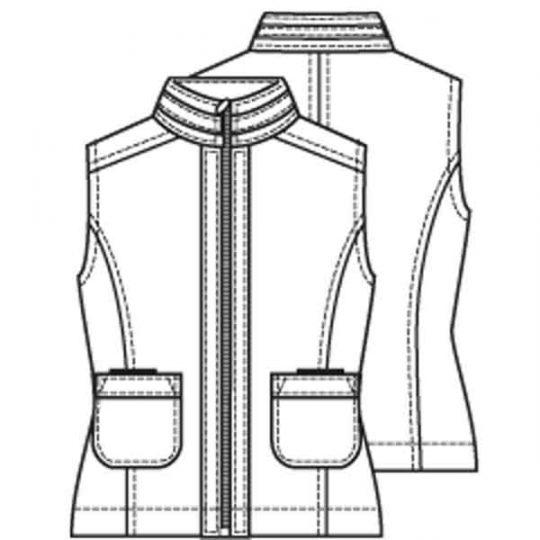 Sportieve bodywarmer (Post patroon)-790536