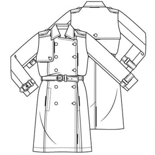Trenchcoat (Post-patroon)-792789