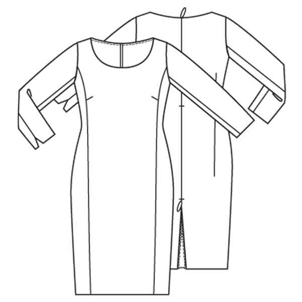 patroon jurk
