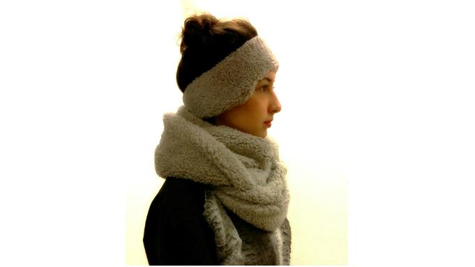 DIY oorwarmers en sjaal