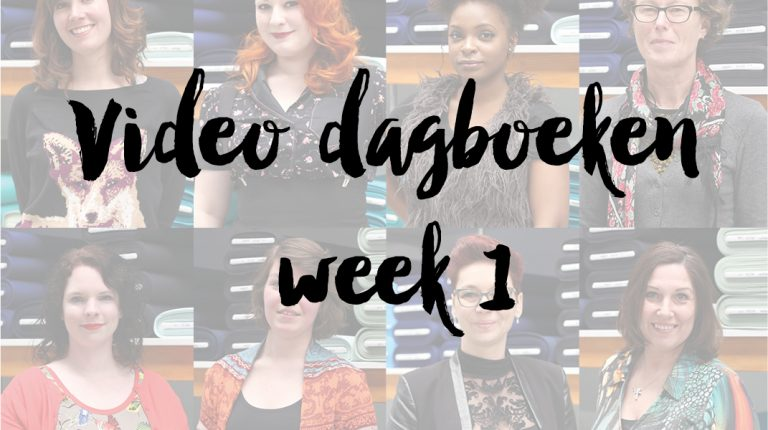 Video dagboeken week 1