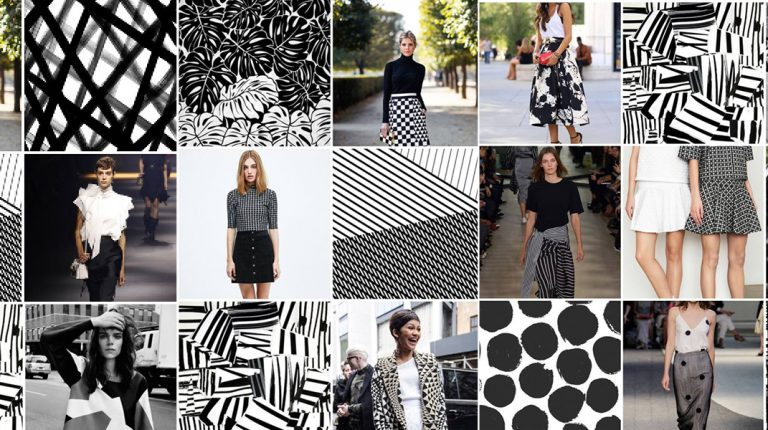 Modetrend week 1: Black & White