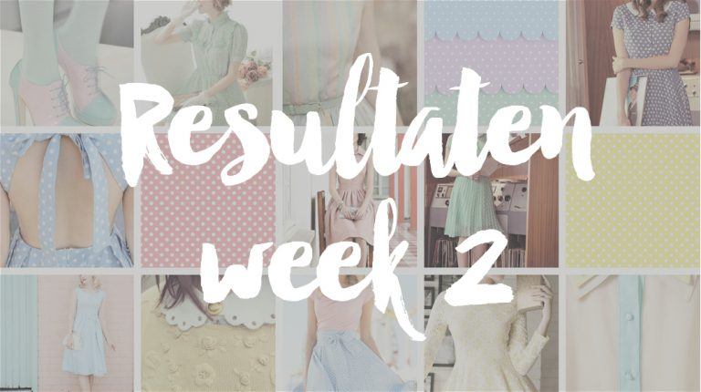 Resultaten Knipster – week 2 | stemming gesloten