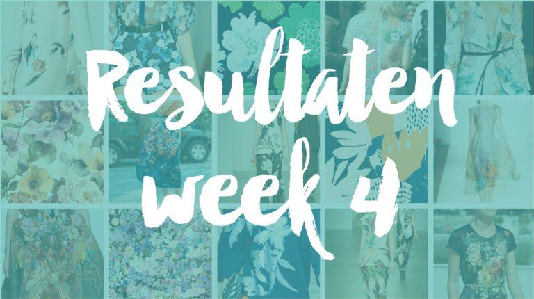 Resultaten Knipster – week 4 | stemming gesloten