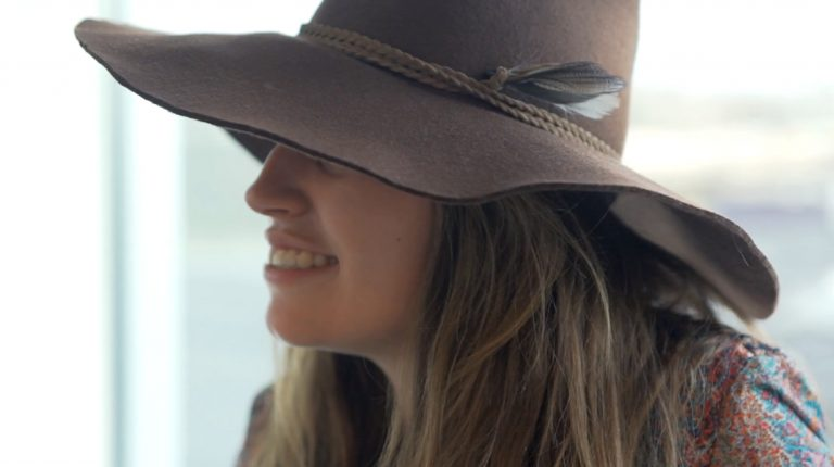 DIY hoed – Boho Chic