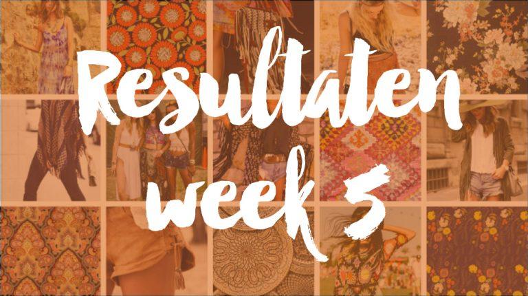 Resultaten Knipster – week 5 | stemming gesloten