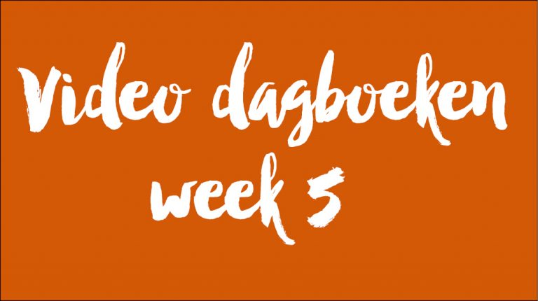 Video dagboeken week 5
