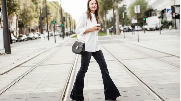 Trend: flared jeans