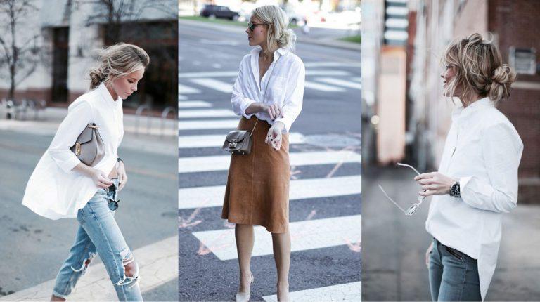 Beste basic: de witte blouse
