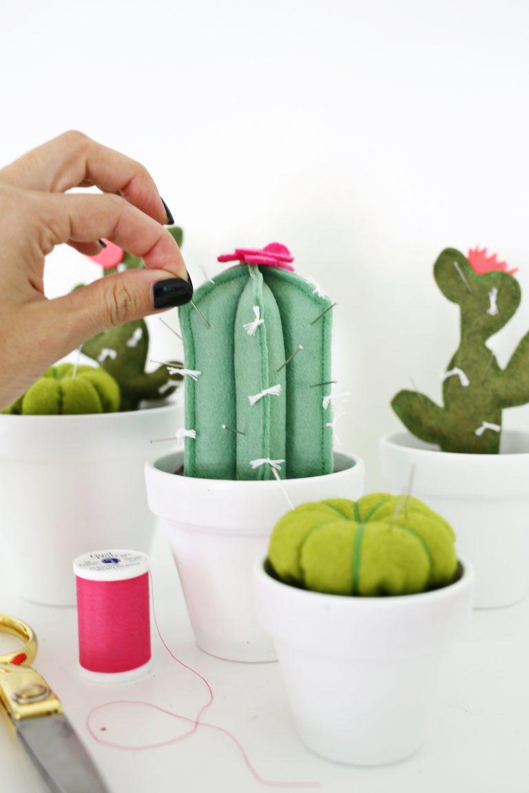 DIY | Cactus speldenkussen
