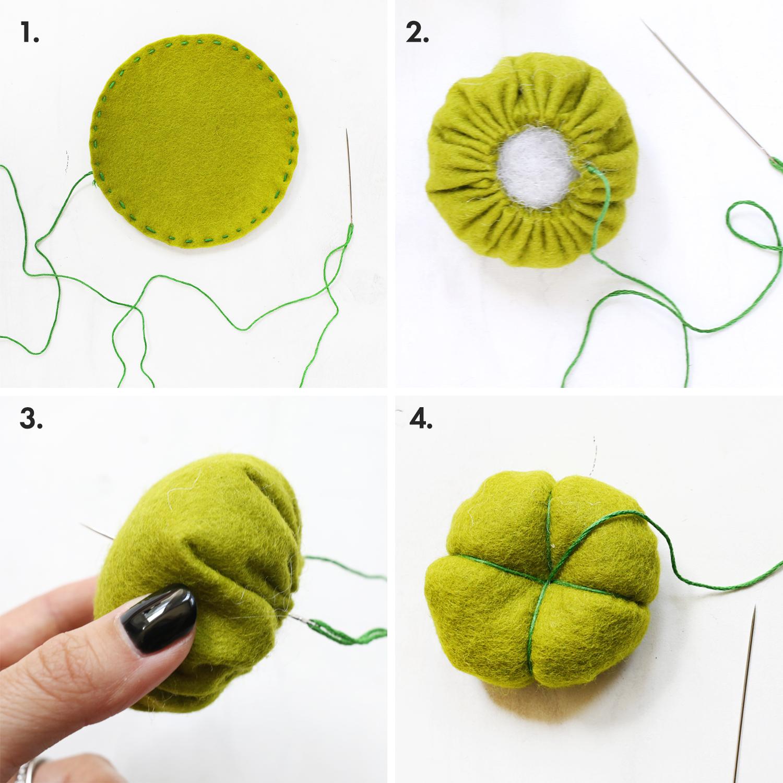 DIY speldenkussen cactus 2