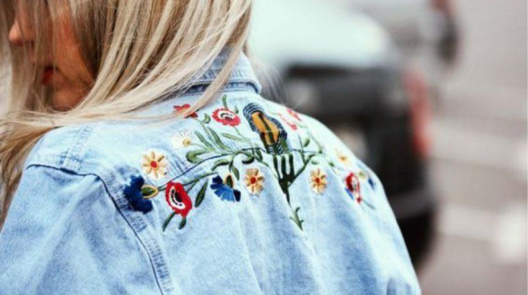 Inspiratie: borduren op kleding