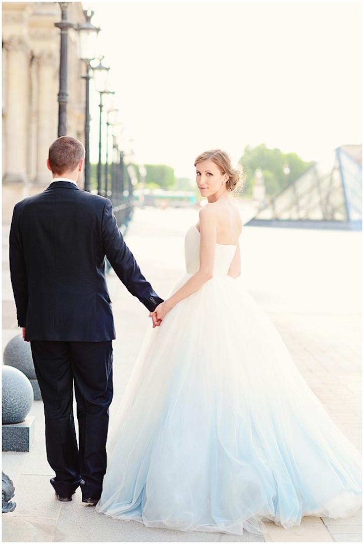 Bruidsjurk laten strijken