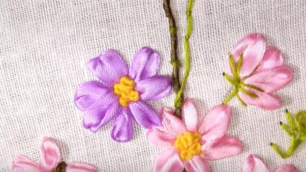 Tutorial: Borduren met zijde lint