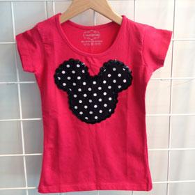 DIY Mickey Mouse shirtje
