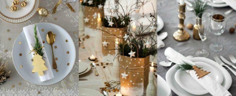Inspiratie: DIY voor de kersttafel
