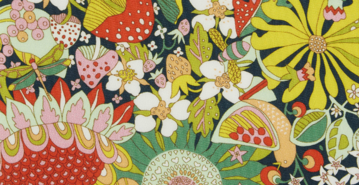 Fabric Friday: Liberty of London – zijde