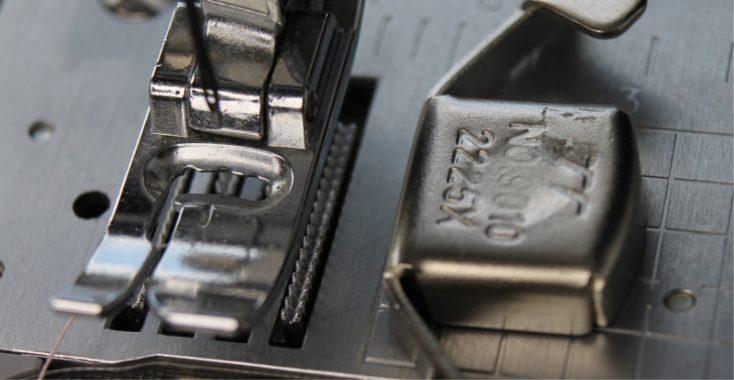 Naaitip: magnetische zoomgeleider