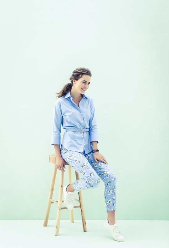 blouse + broek