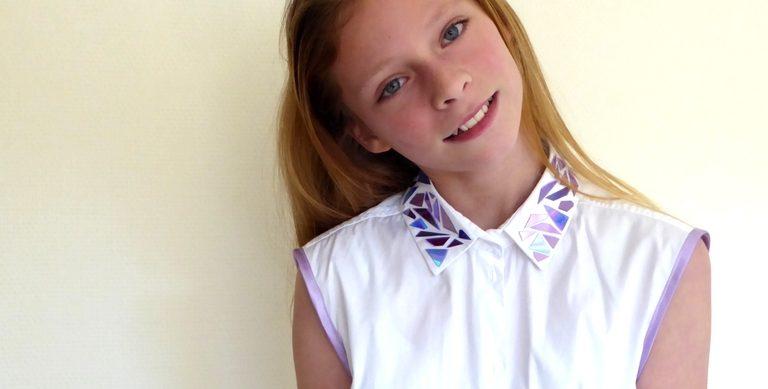 DIY: blouse pimpen