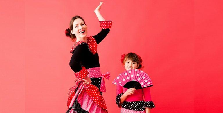Gratis patroon carnavalspak flamenco