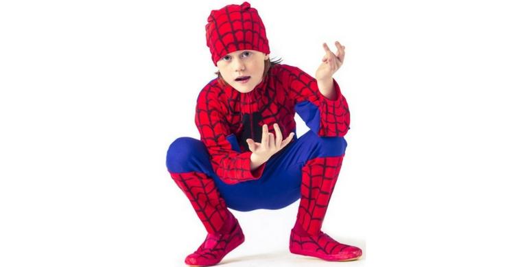 Gratis patroon carnavalspak Spiderman