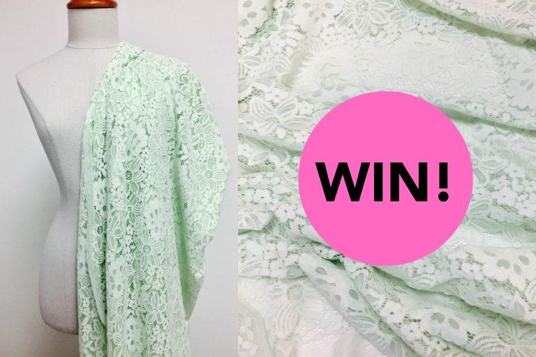 Fabric Friday | WIN Sweet Romance stof