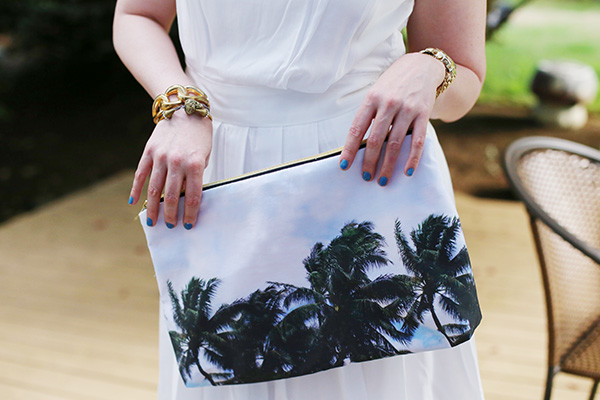 DIY | Tropical Garden Clutch