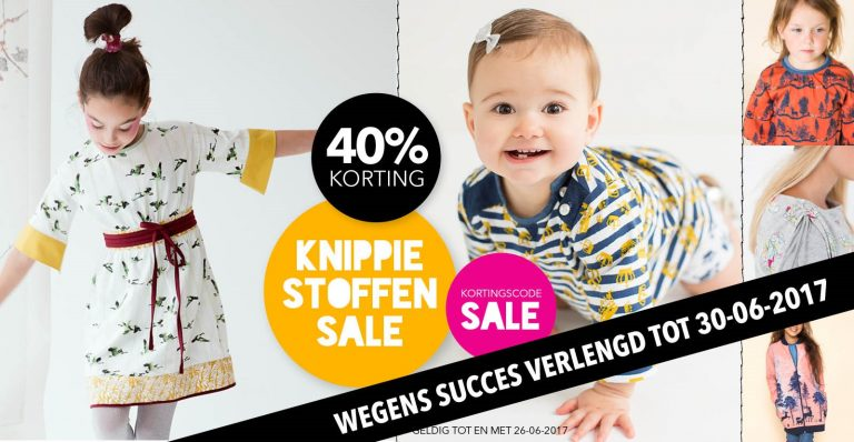 KNIPPIE Stoffensale | 40% Korting