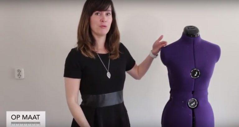 Op maat met Monique | Patroon aanpassen voor brede schouders