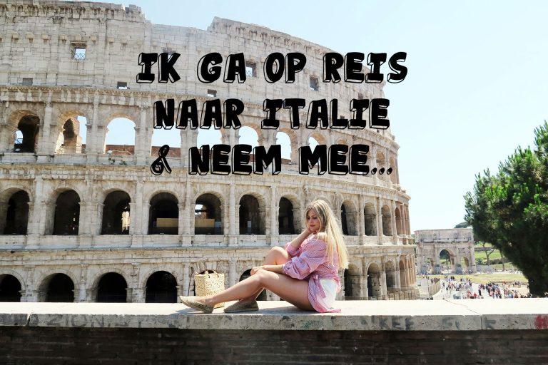 Ik ga op reis naar Italië en neem mee… | Mode met Michelle