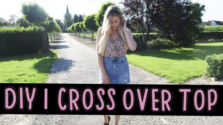 DIY Cross over top | Mode met Michelle