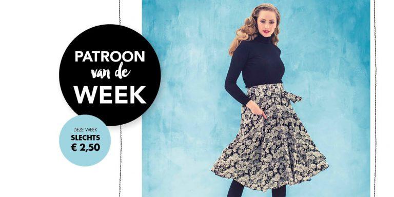 Patroon van de week | Rok