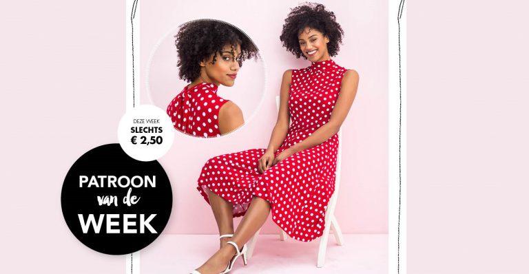 Bestel het patroon van deze week voor maar €2,50!