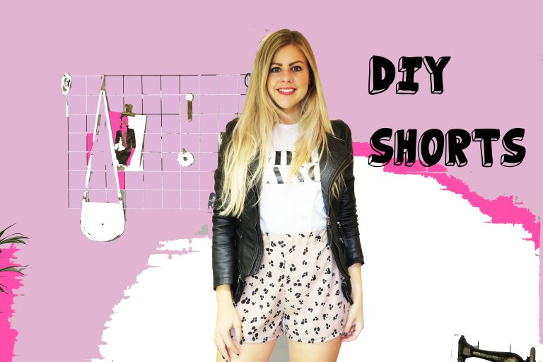 DIY Simple shorts | Mode met Michelle
