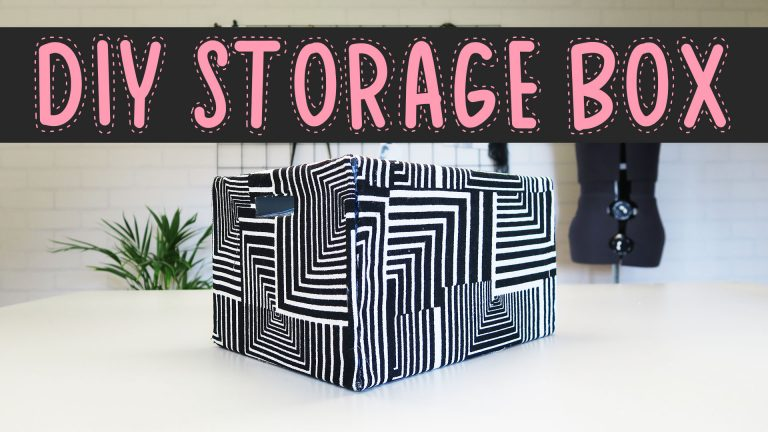 DIY pimp je storage box | Mode met Michelle