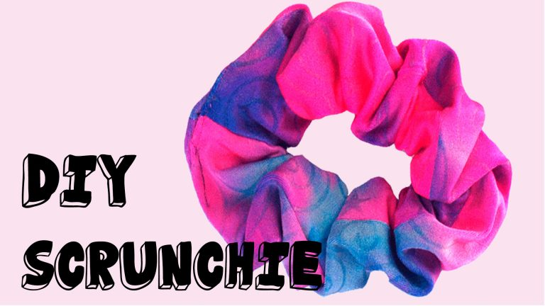 DIY Scrunchie | Mode met Michelle