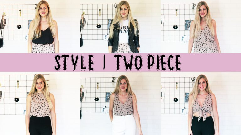 Style je Two Piece | Mode met Michelle