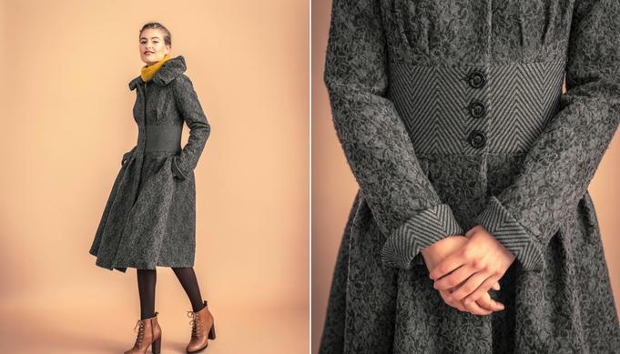 Lezerswens | Vintage-look jas
