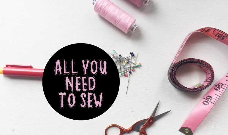 INSPIRATIE | All you need to sew – Mode met Michelle