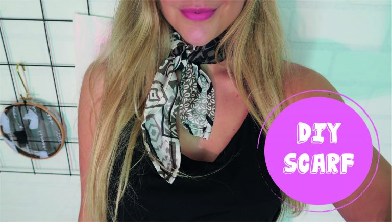 DIY Scarf | Mode Met Michelle