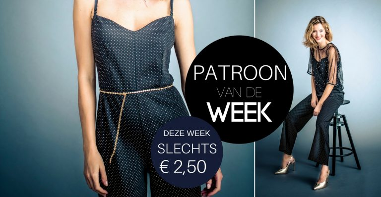 Patroon van de week | SPIKKELPAK