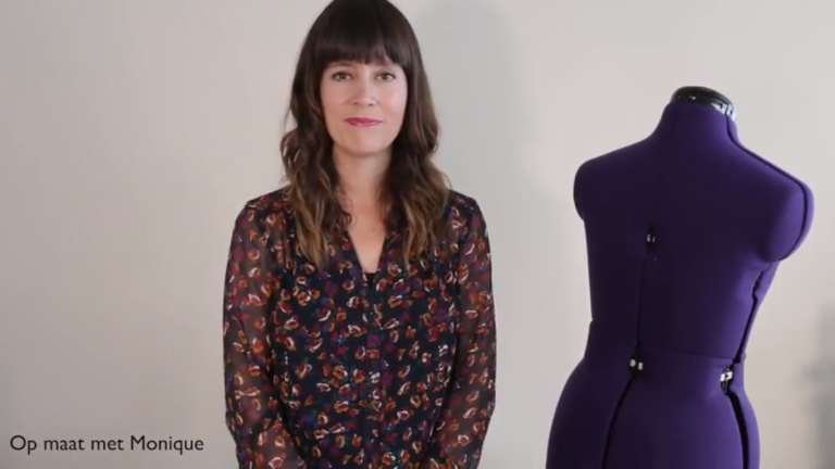 Op maat met Monique | Patroon aanpassen voor een ronde bovenrug