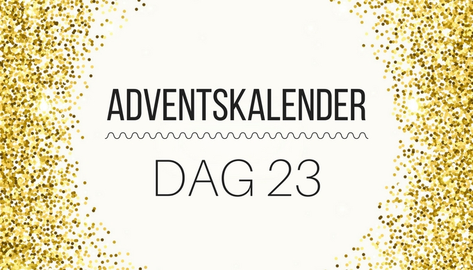 Adventskalender | DIY vlinderdas